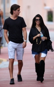 Kourtney Kardashian Labor Day Weekend 1