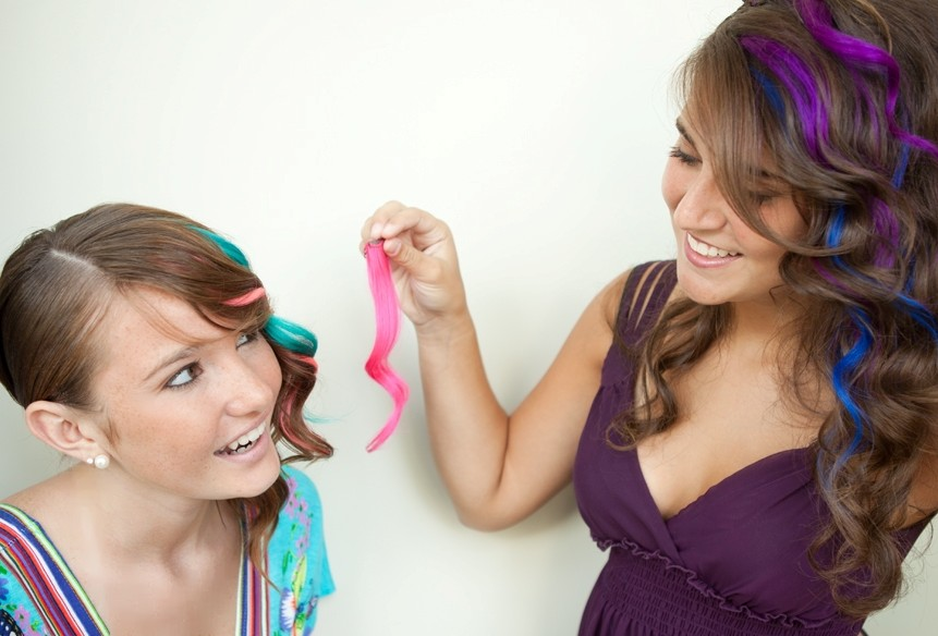 Snazzy Lites – Fun Color Clip-in Hair Extensions!